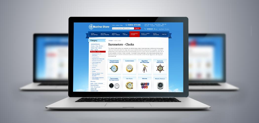 MarineStore.co.uk - Miva Custom Design
