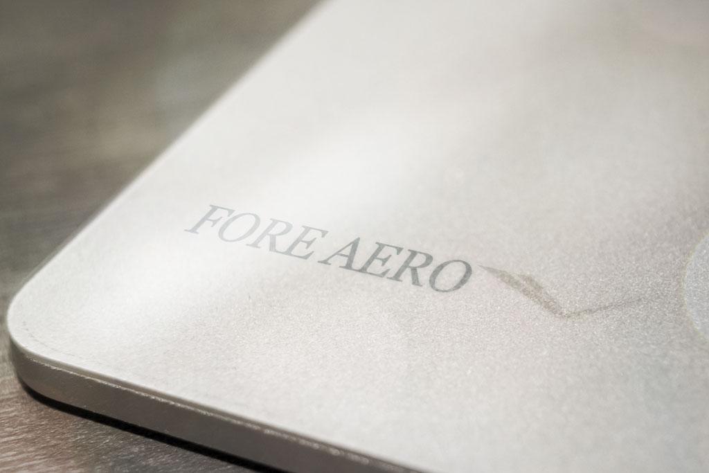 Fore Aero aluminum