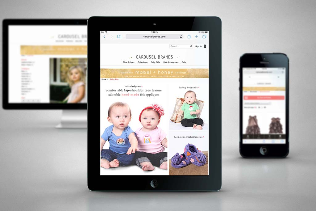 CarouselBrands.com - Miva Ecommerce Customization - Ipad