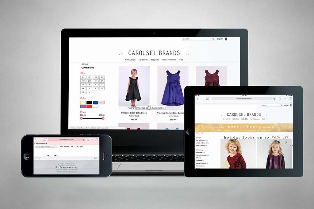 CarouselBrands.com - Miva Ecommerce Customization