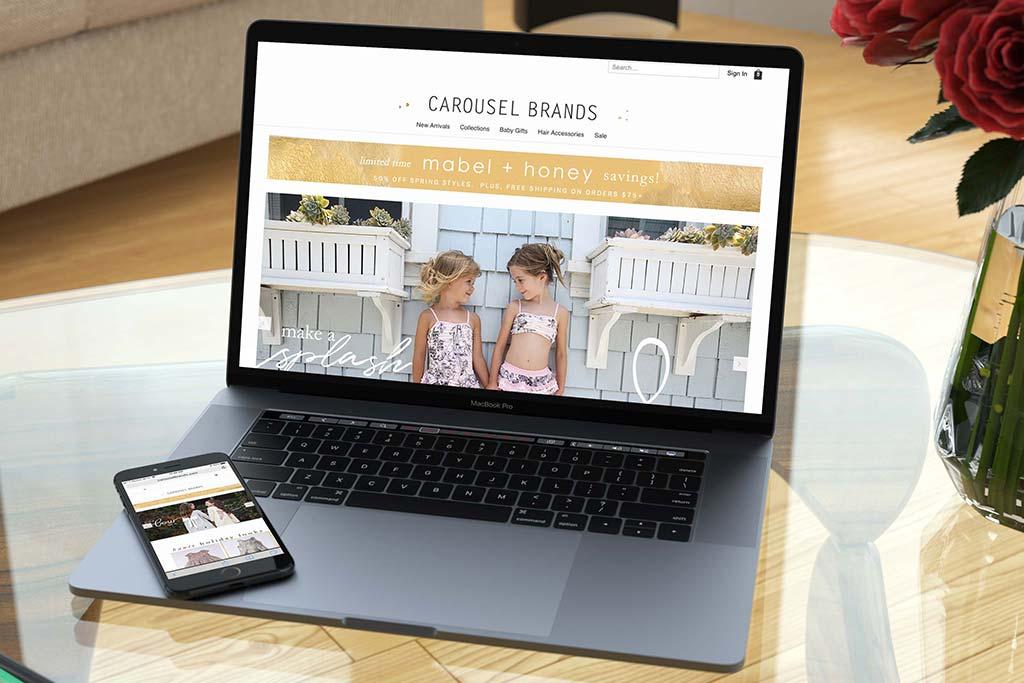 CarouselBrands.com - Miva Ecommerce Customization - Mobile/Tablet