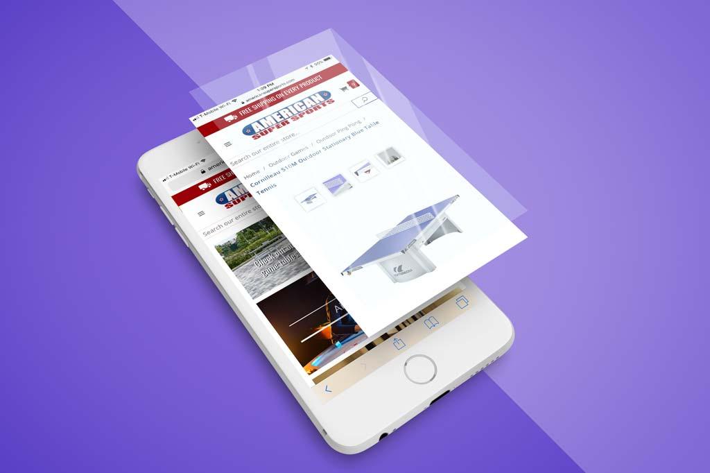 AmericanSuperSports.com - Miva Ecommerce Design Phone