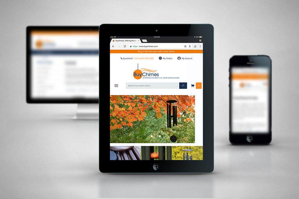 BuyChimes.com - Miva Ecommerce Customization