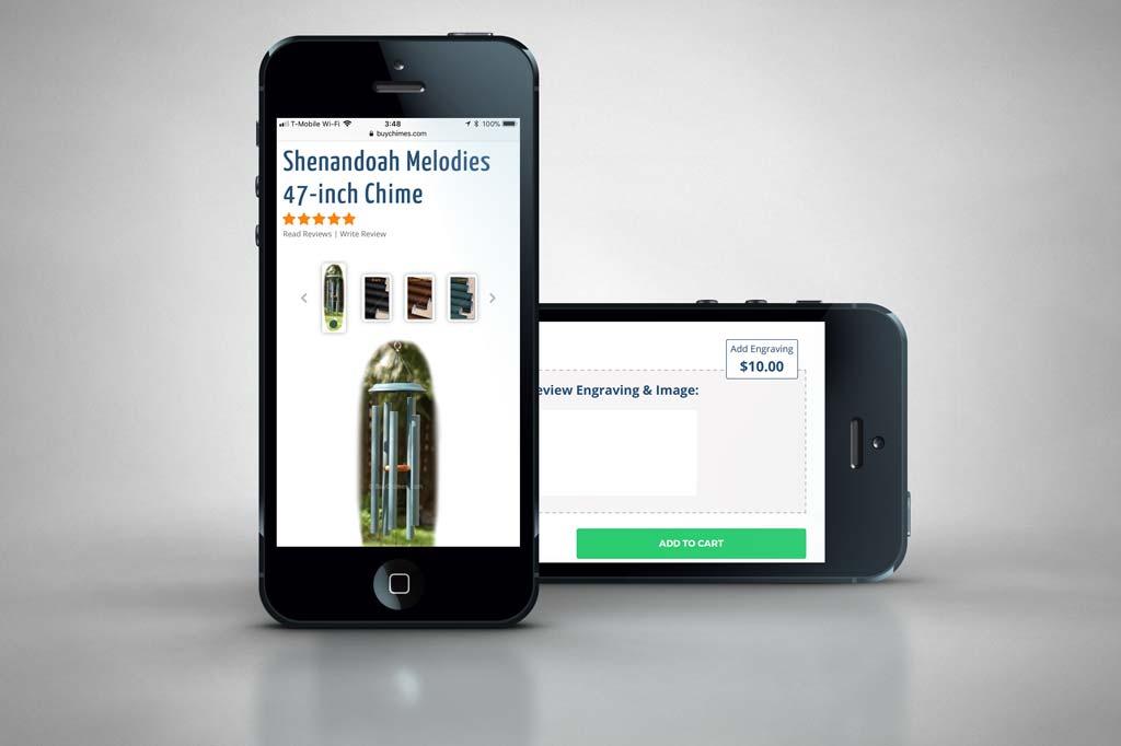 BuyChimes.com - Miva Ecommerce Customization - Phone