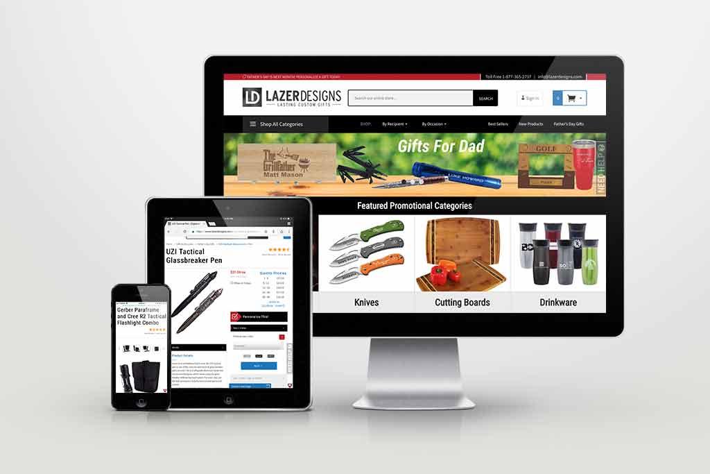LazerDesigns - portfolio