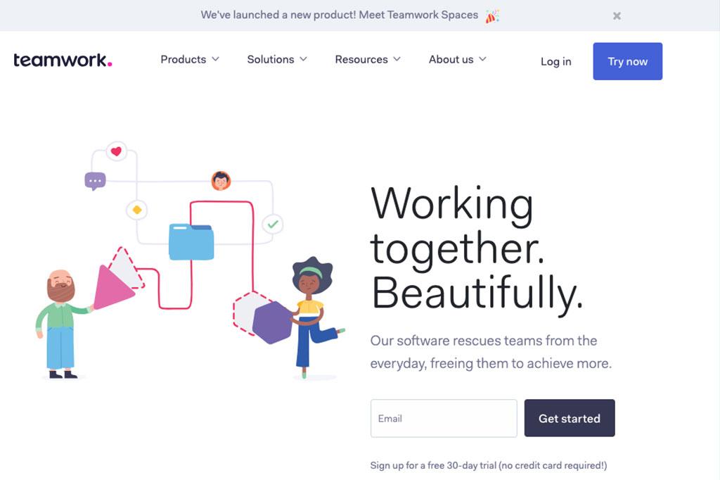 teamwork screenshot