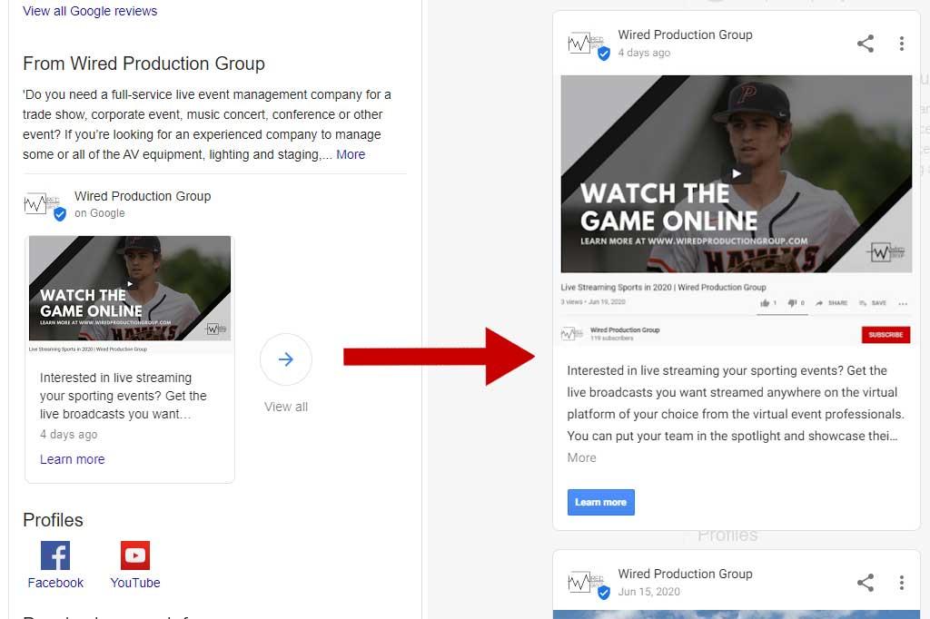 Set Up Google My Business Account posts