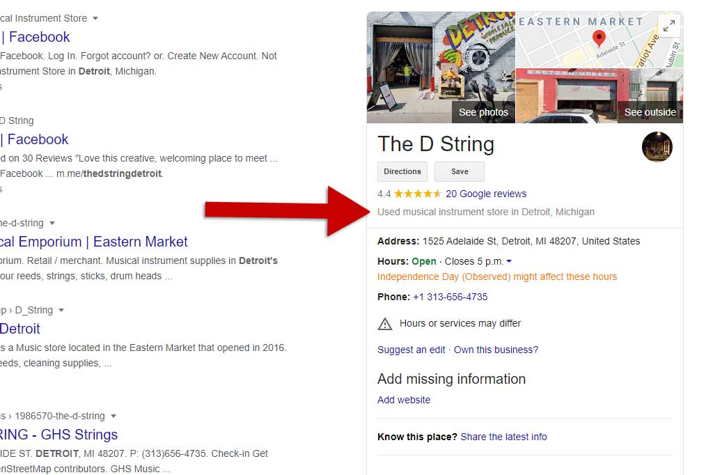 The D String