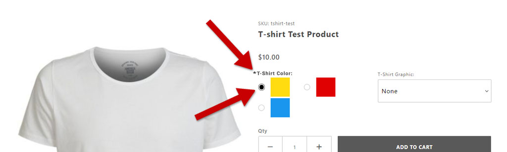 Live product example