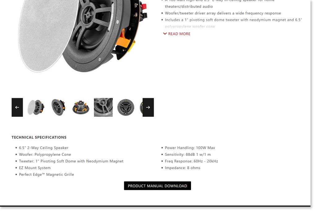 OSD Audio B2B Product Page
