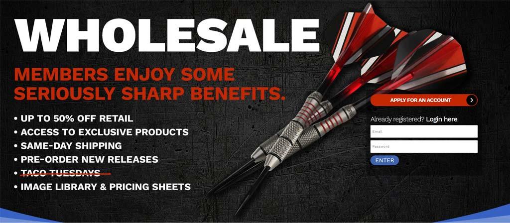 MagicDartsWholesale.com - Glendale Designs